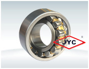 High temperature self-aligning roller bearings